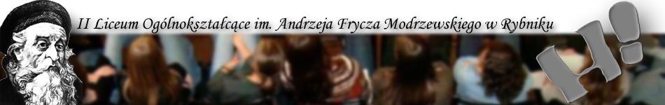 II Liceum Ogólnokształcące im. A. Frycza Modrzewskiego w Rybniku